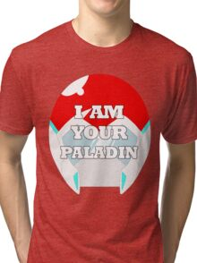 """I AM YOUR PALADIN"" Keith from Voltron Tri-blend T-Shirt"