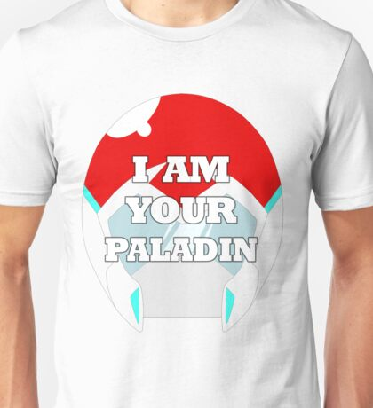 """I AM YOUR PALADIN"" Keith from Voltron Unisex T-Shirt"
