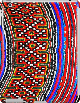 Hill Tribe Textile 1 by Ethna Gillespie