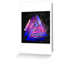 Abstract,colorful,geometric,fun,upbeat,modern,trendy,elegant Greeting Card