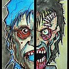 Two Half Zombie by byronrempel