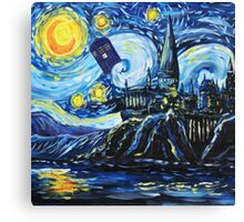 Tardis Castle Canvas Print