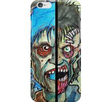 Two Half Zombie iPhone Case/Skin