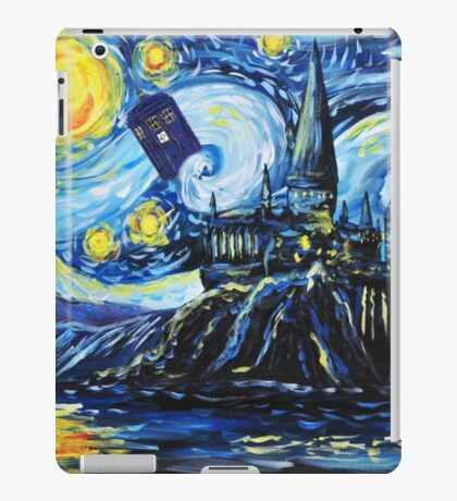Tardis Castle iPad Case/Skin