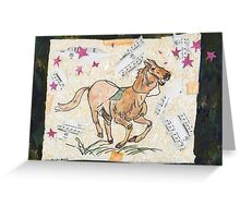 Runaway Greeting Card