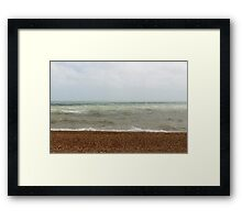 The Brighton Seafront Framed Print
