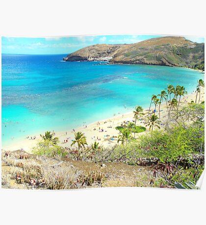 Hanauma Bay, Oahu, Hawaii Poster