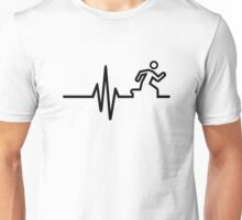 Runner frequency Unisex T-Shirt