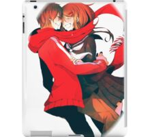 shintaro embracing ayano iPad Case/Skin