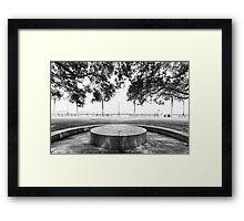 Stage in the Park Framed Print