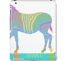 Zebra Zoom 8A iPad Case/Skin