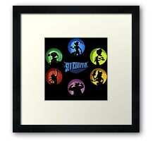 SLY COOPER THE CIRCLE Framed Print