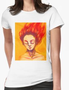 Concentration Womens Fitted T-Shirt