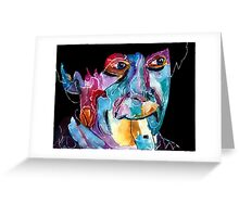 Second Doctor / Patrick Troughton Greeting Card