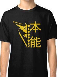 Team Instinct Pokemon GO! Kanto Badge Shirt Classic T-Shirt