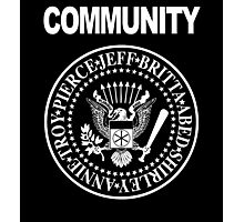 Community - Great Seal of the Study Group Photographic Print