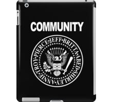 Community - Great Seal of the Study Group iPad Case/Skin