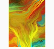 AGATE ABSTRACT OIL PAINTING Unisex T-Shirt