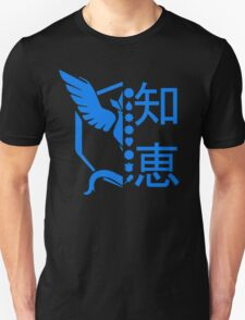 Team Mystic Pokemon GO! Kanto Badge Shirt Unisex T-Shirt