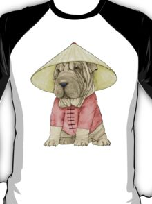 Shar Pei on The Great Wall T-Shirt