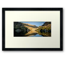 Sunset at Willow Lake - Sangre de Cristo Wilderness, Colorado Framed Print