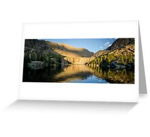 Sunset at Willow Lake - Sangre de Cristo Wilderness, Colorado Greeting Card