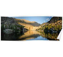 Sunset at Willow Lake - Sangre de Cristo Wilderness, Colorado Poster