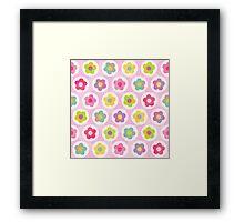 Daisy Daisy Pink Framed Print