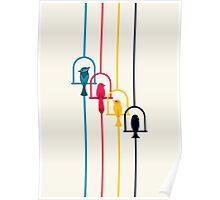 Chime in CMYK Poster