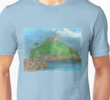 St Michael's Mount- view from the causeway Unisex T-Shirt