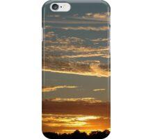 Golden sunset iPhone Case/Skin