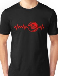 Invisible Monsters Heartbeat T-Shirt Unisex T-Shirt