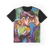 Josuke VS Kira Graphic T-Shirt