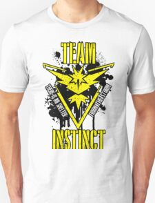 Team Instinct - There is No Shelter From the Storm #1 Unisex T-Shirt