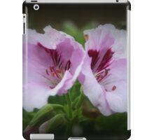 Geranium Flowers iPad Case/Skin