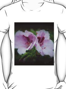 Geranium Flowers T-Shirt