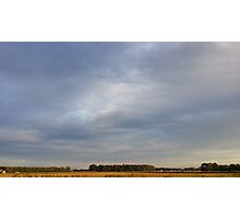 Wide Skies and Flat Ground Photographic Print