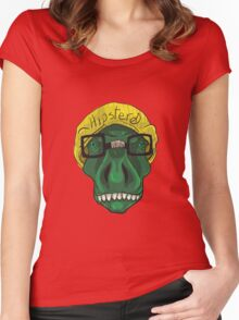 Hipster D Women's Fitted Scoop T-Shirt