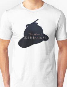 """""""Sherlocked"""" 221 B Baker Street Unisex T-Shirt"""