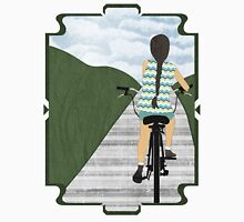 Cyclist From Behind Unisex T-Shirt