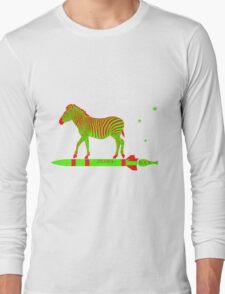 Zebra Rock It 11A Long Sleeve T-Shirt
