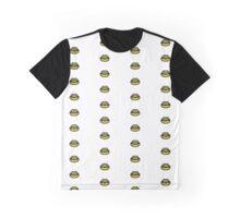 Dark Yellow Lips Graphic T-Shirt