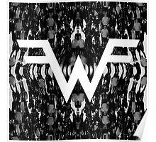 weezer logo best vector tour genico Poster