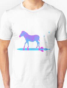 Zebra Rock It 9A Unisex T-Shirt