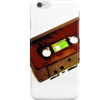 CASSETTE TAPE (ALT) iPhone Case/Skin