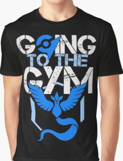 Team Mystic - Going to the Gym Graphic T-Shirt