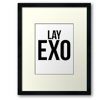 Lay jersey Framed Print