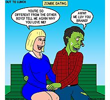 Zombie Dating Photographic Print