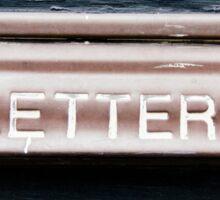 Letters Sticker