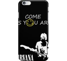 Come as you are - 2 iPhone Case/Skin